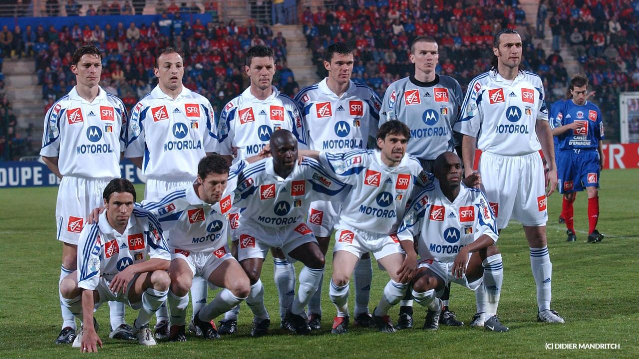 Le 11 face à Châteauroux en demi-finale de Cope de France 03/04
