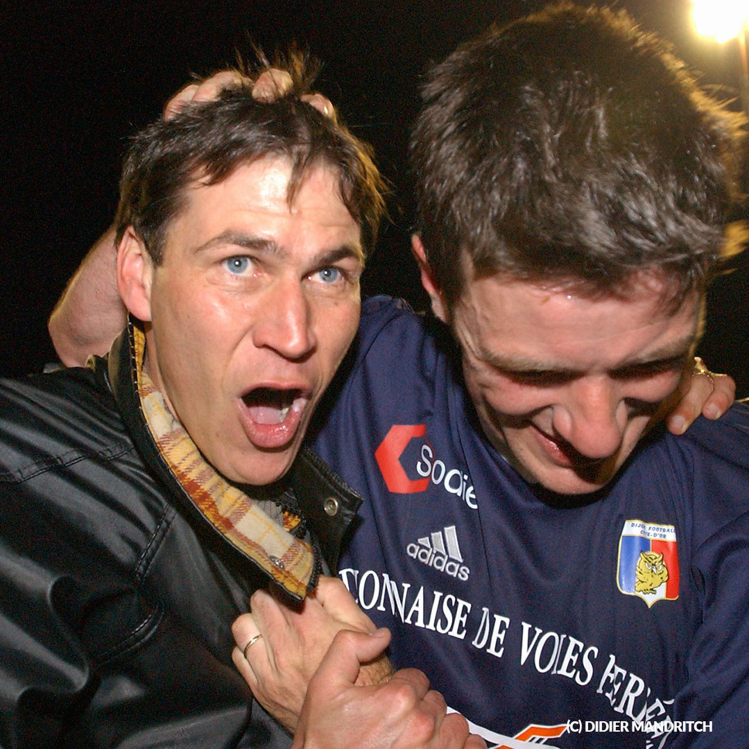 Rudi Garcia et Stéphane Jobard (c) Didier Mandritch